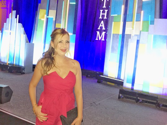 LADY IN RED AT THE 25 ANNUAL GOTHAM AWARDS