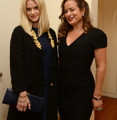 Actress Alice Eve and Jade Jagger celebrating Jade's Fine Jewelry Collection at the Chateau Marmont