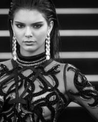 KENDALL JENNER IN CAVALLI COUTURE + CHOPARD