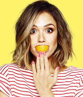 JESSICA ALBA SUPPORTS FRUITS AND VEGETABLES CAMPAIGN