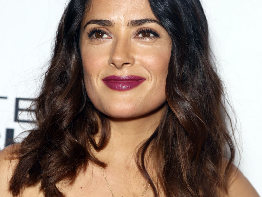 VIDEO: SALMA HAYEK TALKS SEPTEMBERS OF SHIRAZ