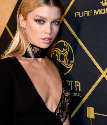 STELLA MAXWELL, CHANEL IMAN TALK BEING HOT AT MAXIM