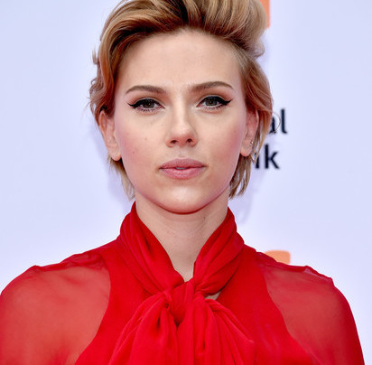 SCARLETT JOHANSSON IN HANEY + SOPHIA WEBSTER
