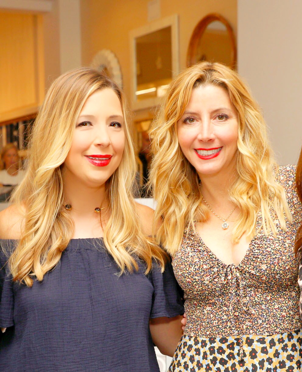 Serena & Lily and Sara Blakely Celebrate the Launch of The Belly Art Project Benefiting Every Mother Counts
