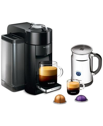 Nespresso Espresso Maker + Milk Frother