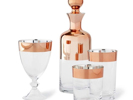 Copper Rim Barware Collection
