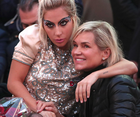 Lady Gaga and Yolanda Foster