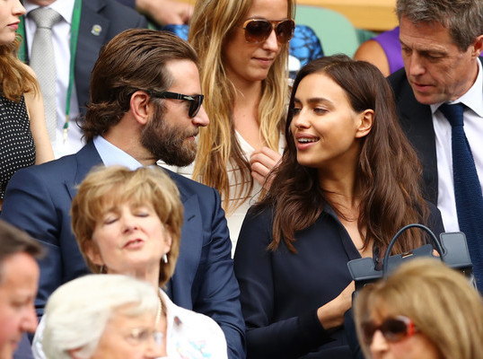 IRINA SHAYK + BRADLEY COOPER OUT AFTER BABY'S BIRTH