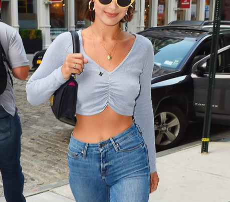 BELLA HADID'S FRENCH GIRL STREET STYLE