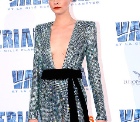 CARA DELEVINGNE AT VALERIAN IN PARIS
