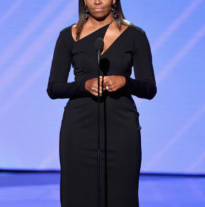 MICHELLE OBAMA IN A SEXY LBD AT THE ESPYS