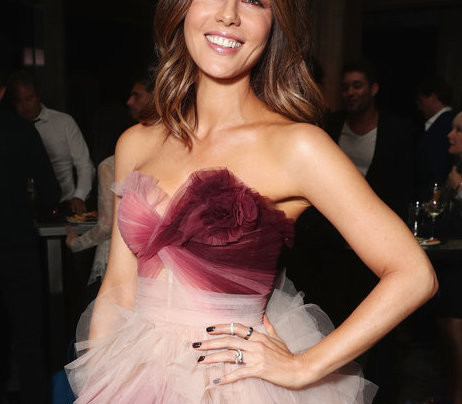KATE BECKINSALE IN OMBRE + PINK FOR THE WIN