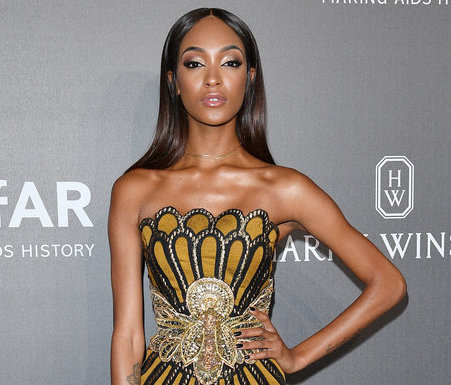 JOURDAN DUNN AT THE amFAR GALA IN MILAN