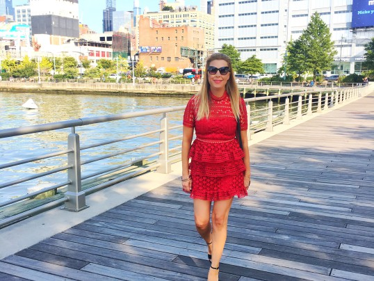 A LITTLE RED DRESS FOR NYFW