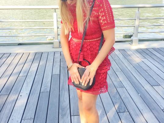 self-portrait red dress 5