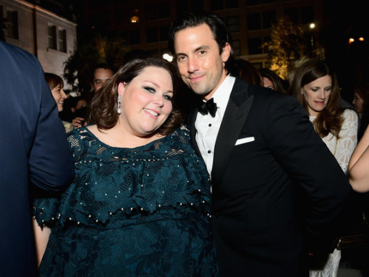 MILO VENTIMIGLIA, CHRISSY METZ TALK THIS IS US SCOOP