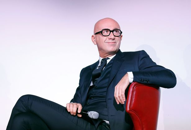 Gucci President and CEO, Marco Bizzarri at the announcement on Wednesday