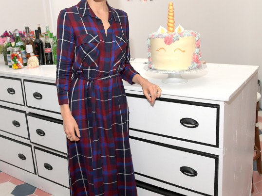Jessica Biel celebrates the launch of Au Fudge CAMP
