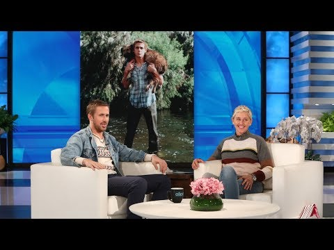 RYAN GOSLING GUSHES ABOUT HIS SHELTER DOG
