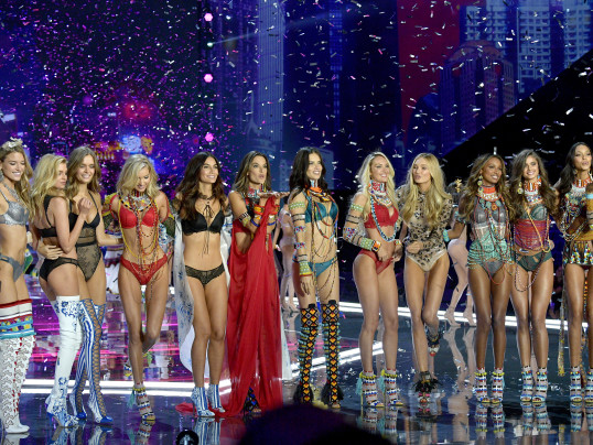 PHOTOS FROM THE VICTORIA'S SECRET FASHION SHOW
