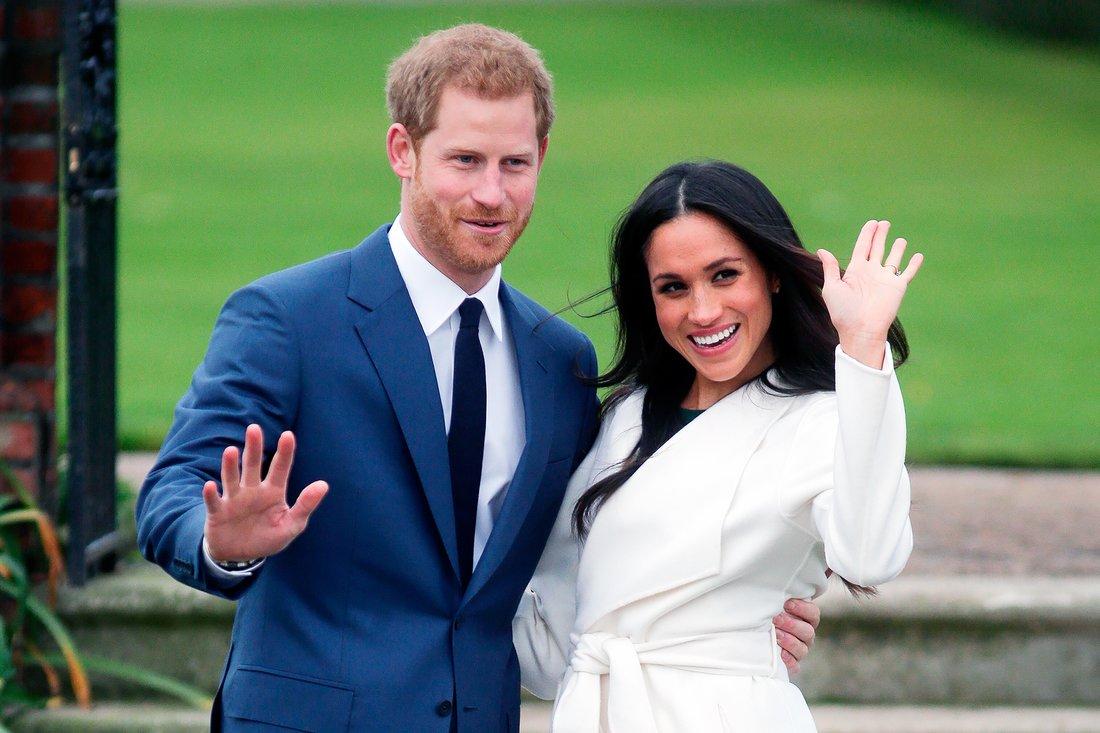 Prince Harry and Meghan Markle 1