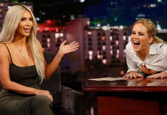 JENNIFER LAWRENCE INTERVIEWS KIM KARDASHIAN WEST