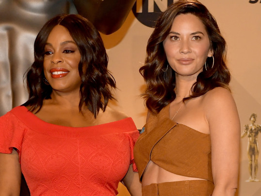 Niecy Nash and Olivia Munn