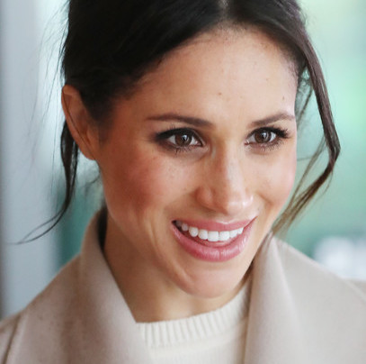 MEGHAN MARKLE LOOKING LIKE A PRINCESS-TO-BE