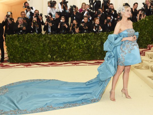 BEST DRESSED AT THE 2018 MET GALA