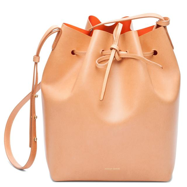 Mansur Gavriel Cammello Bucket Bag