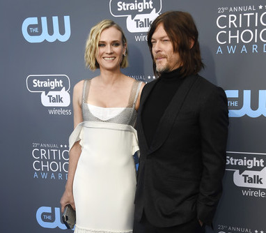 DIANE KRUGER + NORMAN REEDUS EXPECTING