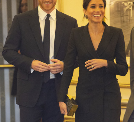 MEGHAN MARKLE IN A BLAZER DRESS