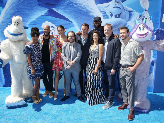 CHANNING TATUM + ZENDAYA CELEBRATE SMALLFOOT