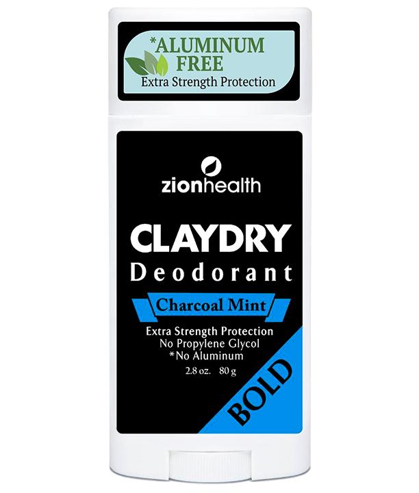 zionhealth clay dry deodorant