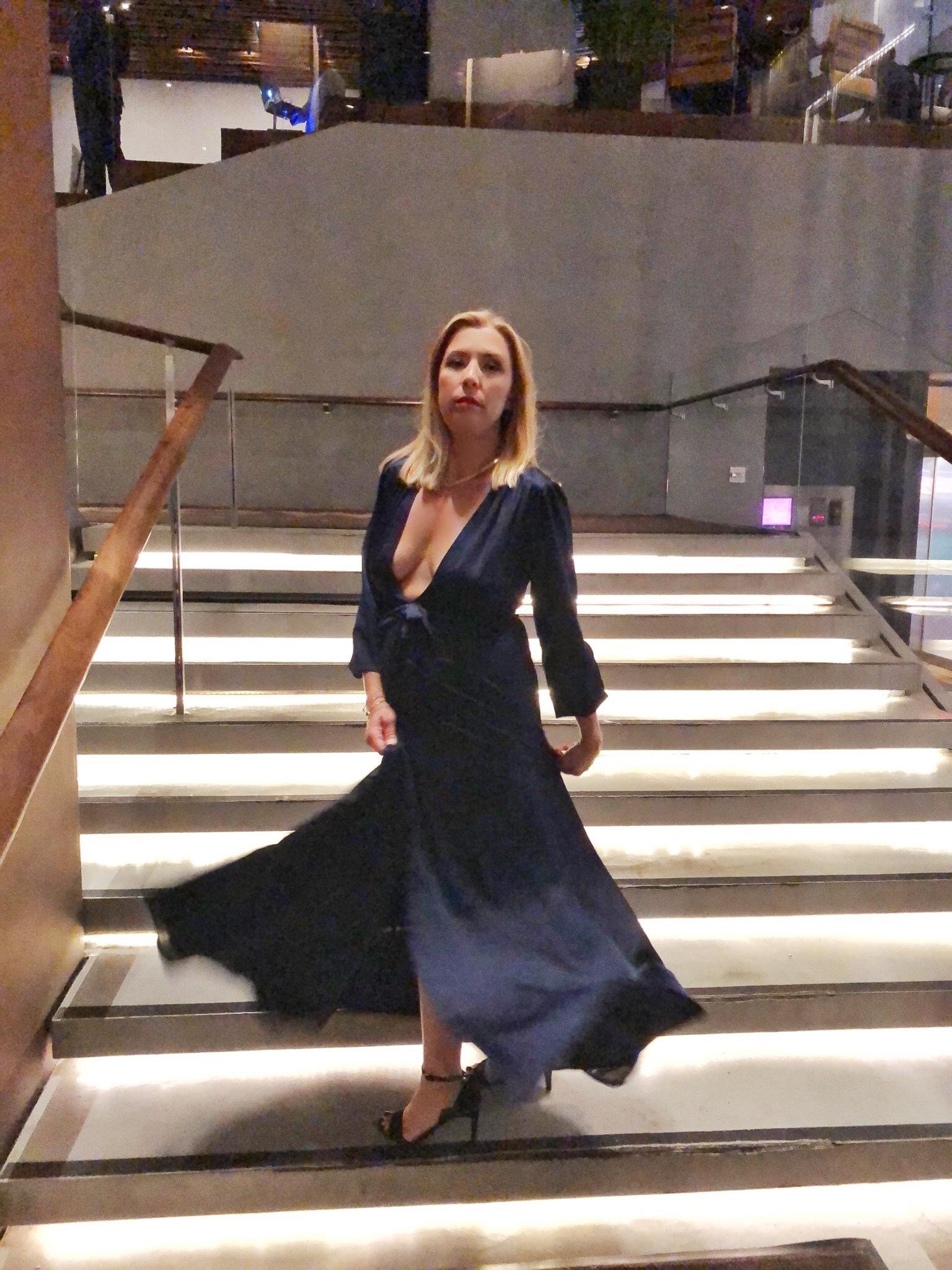 STYLE360 navy dress
