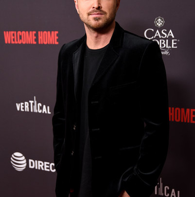 AARON PAUL TALKS FATHERHOOD, NANNY CAMS, JESSE PINKMAN RETURN