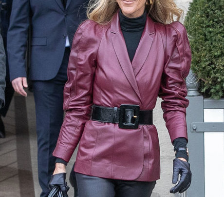 CELINE DION IS OWNING PARIS FASHION WEEK