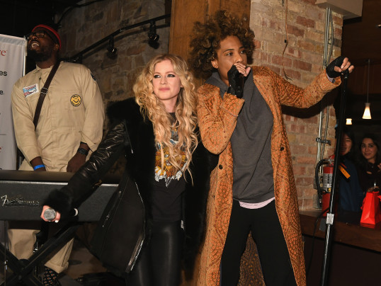 Avril Lavigne and Macy Gray