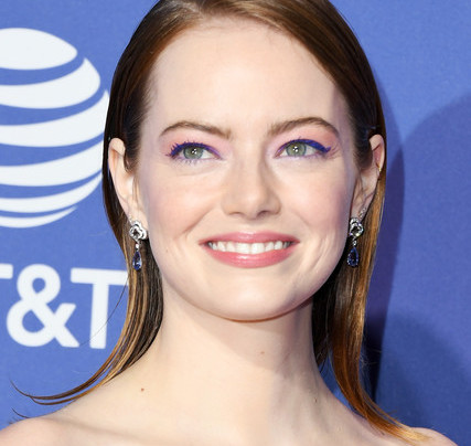 EMMA STONE IN FLORALS AND MORE FLORALS