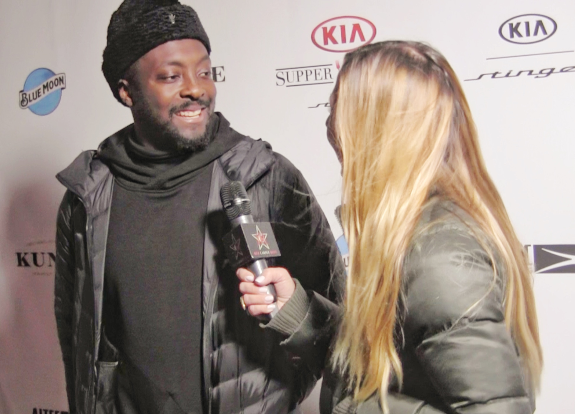 Interviewing will.i.am in 2018