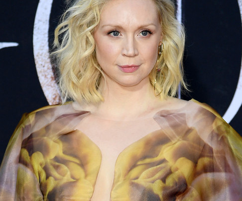 GWENDOLINE CHRISTIE AT THE GAME OF THRONES PREMIERE