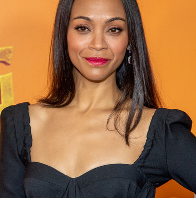 ZOE SALDANA GIVING US SHEER VIBES ON THE RED CARPET