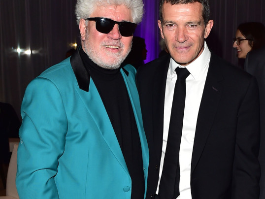 ANTONIO BANDERAS + PEDRO ALMOVADAR CELEBRATE OSCAR NOMINATIONS