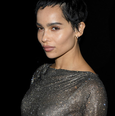ZOE KRAVITZ AT PARIS FASHION WEEK