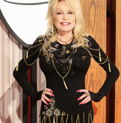 DOLLY PARTON DONATES BIG FOR CORONAVIRUS VACCINE