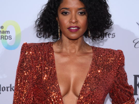 RENEE ELISE GOLDSBERRY AT THE GOTHAM AWARDS