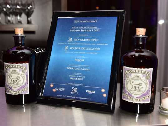 Sony Pictures Classics Nominees Award Dinner hosted at The EDITION West Hollywood with Monkey47 Gin
